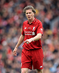Liverpool's Steve McManaman during the Legends match at Anfield Stadium, Liverpool.