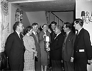 10/12/1957 <br /> 12/10/1957<br /> 10 December 1957<br /> <br /> Bord Failte Luncheon at The Gresham