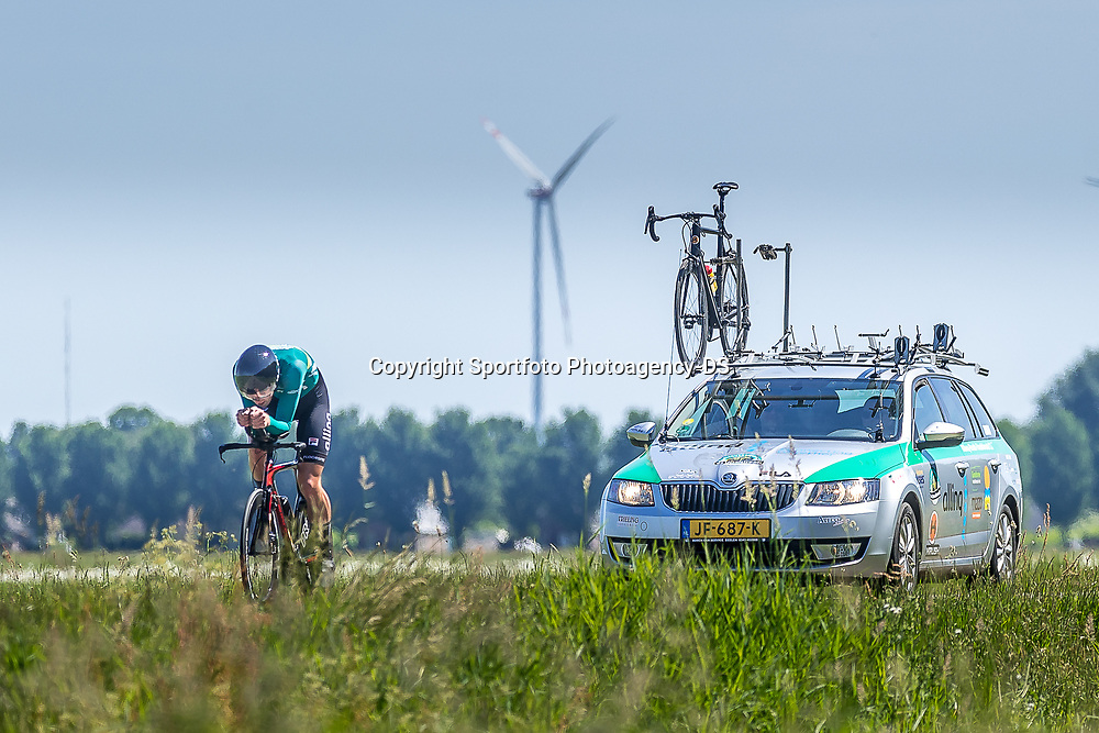 EMMEN (NED) June 16: <br />CYCLING <br />Dutch Nationals Time Trail men U23 Tim Bierkens