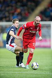 Falkirk's Will Vaulks and Rangers Kris Boyd. Falkirk 1 v 1 Rangers, Scottish Championship game played 27/2/2014 at The Falkirk Stadium .