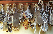 LIVING ZEN - HOSHINJI MONASTERY, OBAMA-JAPAN..Monks' sandals.