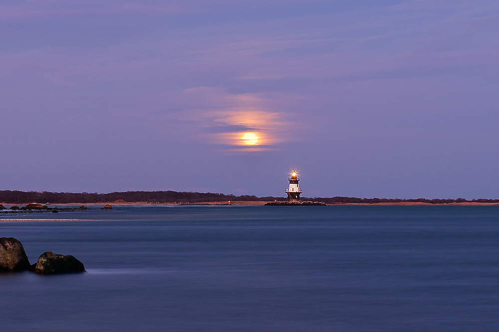 """Orient Point """"Coffee Pot"""" Lighthouse<br /> Orient Point, Long Island"""