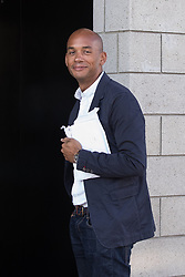 © Licensed to London News Pictures . 24/09/2017. Brighton, UK. CHUKA UMUNNA arrives for the Peston Show . The first day of the Labour Party Conference in and around The Brighton Centre . Photo credit: Joel Goodman/LNP