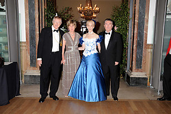 Left to right, SIR NICHOLAS & LADY GRIMSHAW he is President of the RA and SIR PAUL & LADY JUDGE at the Royal Academy of Art's Summer Ball held at Burlington House, Piccadilly, London on 16th June 2008.<br /><br />NON EXCLUSIVE - WORLD RIGHTS