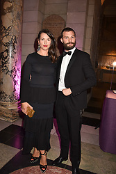 Jamie Dornan and his wife Amelia at The Sugarplum Dinner 2017 to benefit the type 1 diabetes charity JDRF held at the Victoria & Albert Museum, Cromwell Road, London England. 14 November 2017.