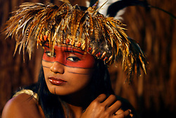 Festa temática inspirada nas origens indigenas da cultura brasileira na abertura oficial do 20 Congresso Mundial da Intercoiffure - ICD Rio 2008, que acontece de 18 a 20 de maio, no hotel Intercontinental, no Rio de Janeiro . FOTO: Jefferson Bernardes / Preview.com