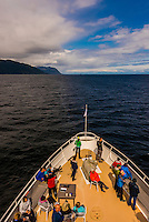 Wilderness Explorer (small cruise ship) , Stephens Passage, Inside Passage, Southeast Alaska USA.