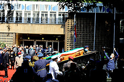 South Africa - Johannesburg - 17 September 2020 -  The special official funeral service of the late Advocate George Bizos taking place at the Greek Orthodox Church.<br />Picture:Nokuthula Mbatha/ African News Agency(ANA)