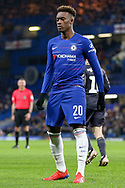Chelsea Midfielder Callum Hudson-Odoi during the The FA Cup fourth round match between Chelsea and Sheffield Wednesday at Stamford Bridge, London, England on 27 January 2019.