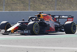 February 18, 2019 - Spain - Max Verstappen (Aston Martin Red Bull Racing) seen in action during the winter test days at the Circuit de Catalunya in Montmelo  (Credit Image: © Fernando Pidal/SOPA Images via ZUMA Wire)