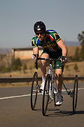 during the Time Trial on Day 1 of the 2017 UCI Para-cycling Road World Championships held at Midmar Dam Howick, South Africa, on Thursday 31 August 2017. Image by Greg Beadle