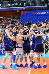L'ITALIA ESULTA<br /> ITALIA - POLONIA<br /> PALLAVOLO VNL VOLLEYBALL NATIONS LEAGUE 2019<br /> MILANO 23-06-2019<br /> FOTO GALBIATI - RUBIN