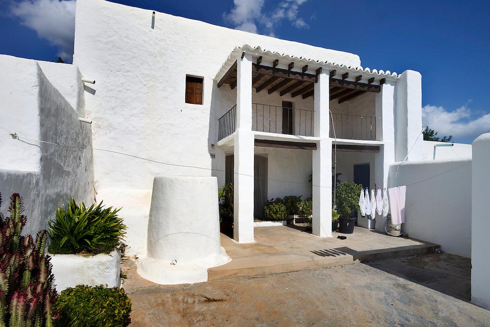 29/Septiembre/2010 Ibiza.Casa payesa de Can Pere Blai en Santa Eulalia.Coordenadas UTM: 372244 - 4315859 Zona 31S..©JOAN COSTA