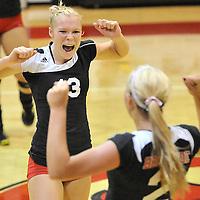 9.13.2012 Buckeye at Brookside Varsity Volleyball