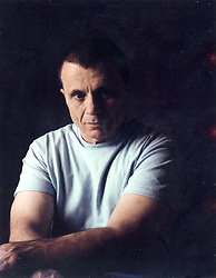Mar 16, 2005 - Los Angeles , California, USA - 'Baretta' actor ROBERT BLAKE was acquitted today of the murder and solicitation for murder of his wife, Bonnie Lee Bakley by a jury in Los Angeles. Bakley was shot to death May 4, 2001, outside Blake's favorite Italian restaurant in Studio City, after the two had dinner. Pictured: FILE PHOTO: 1993;  Actor ROBERT BLAKE during a portrait session at his home in Studio City. <br />