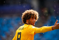 June 23, 2018 - Moscou, Rússia - MOSCOU, MO - 23.06.2018: BÉLGICA Y TÚNEZ - Marouane Fellaini of Belgium during a match between Belgium and Tunisia is valid for the second round of group G of the 2018 World Cup, held at the Otkrytie Arena in Moscow, Russia. (Credit Image: © Marcelo Machado De Melo/Fotoarena via ZUMA Press)