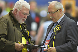 SCOTTISH PARLIAMENTARY ELECTION 2016 – Scottish National Party (SNP) Election agents at Royal Highland Centre, Edinburgh<br />(c) Brian Anderson   Edinburgh Elite media