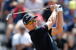 Australia's Adam Scott tees off the 3rd during day four of The Open Championship 2018 at Carnoustie Golf Links, Angus. PRESS ASSOCIATION Photo. Picture date: Sunday July 22, 2018. See PA story GOLF Open. Photo credit should read: Richard Sellers/PA Wire. RESTRICTIONS: Editorial use only. No commercial use. Still image use only. The Open Championship logo and clear link to The Open website (TheOpen.com) to be included on website publishing.