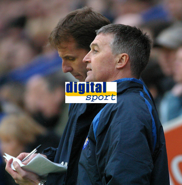Photo: Dave Linney.<br />Leicester City v Wolverhampton Wanderers. Coca Cola Championship. 04/02/2006.Leicester's caretaker mgr Rob Kelly