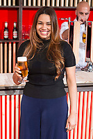 Dominican Chef Maria Marte during the presentation of the new spot of  Mahou 5 Estrellas at Capitol Cinemas in Madrid. March 29, 2016. (ALTERPHOTOS/Borja B.Hojas)