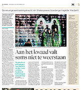 MCBTH: article De Morgen (BE)