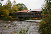 Albany covered bridge on Kancamagus highway.