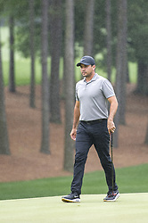 May 5, 2019 - Charlotte, North Carolina, United States of America - Jason Day walks to the second green while it rains during the final round of the 2019 Wells Fargo Championship at Quail Hollow Club on May 05, 2019 in Charlotte, North Carolina. (Credit Image: © Spencer Lee/ZUMA Wire)