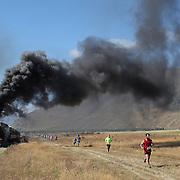 Race the Train, Kingston Flyer. New Zealand