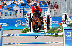 Devos Pieter, BEL, Espoir<br /> World Equestrian Games - Tryon 2018<br /> © Hippo Foto - Dirk Caremans<br /> 19/09/18