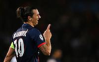 Zlatan Ibrahimovic of PSG - Paris St Germain