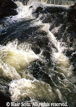 Bushkill Falls, Pocono Mountains, Pike Co., NE PA