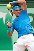 Roland Garros 2011. Paris, France. May 28th 2011..Spanish player Rafael NADAL against Ivan LJUBICIC