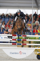 Greeve Michael (NED) - Ubalia<br /> World Championship Young Horses Lanaken 2008<br /> Photo Copyright Hippo Foto