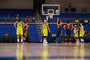Alyssa Thomas of the Connecticut Sun shoots a free-throw against the Dallas Wings during a WNBA preseason game in Arlington, Texas on May 8, 2016.  (Cooper Neill for The New York Times)