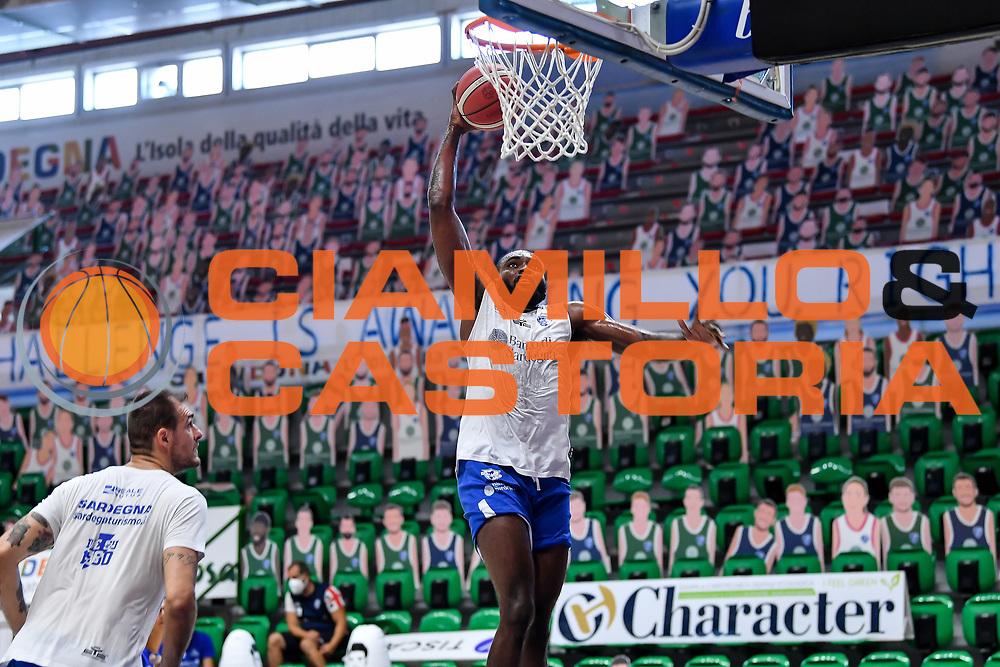 Christian Mekowulu<br /> Allenamento Banco di Sardegna Dinamo Sassari<br /> LBA Legabasket Serie A 2021-2022<br /> Sassari, 12/08/2021<br /> Foto L.Canu / Ciamillo-Castoria