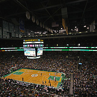 This iconic Boston sport photography image of the Boston Celtics at the Garden is available as museum quality photography prints, canvas prints, acrylic prints or metal prints. Prints may be framed and matted to the individual liking and decorating needs:<br /> <br /> http://juergen-roth.pixels.com/featured/boston-celtics-basketball-juergen-roth.html<br /> <br /> Boston Celtics playing Cleveland Cavaliers in a NBA basketball game at the TD Bank Northgarden in Boston. The Boston The C's are an American professional basketball franchise based in Boston, Massachusetts. They play in the Atlantic Division of the Eastern Conference in the National Basketball Association and the C-Green Smash Machine holds 17 NBA titles: 2008, 1986, 1984, 1981, 1976, 1974, 1969, 1968, 1966, 1965, 1964, 1963, 1962, 1961, 1960, 1959, 1957.<br /> <br /> <br /> Good light and happy photo making! <br /> <br /> My best, <br /> <br /> Juergen <br /> www.RothGalleries.com <br /> https://www.facebook.com/naturefineart <br /> @NatureFineArt