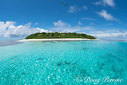 Maninita Island, a bird sanctuary, Vava'u, Kingdom of Tonga, South Pacific