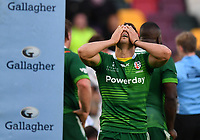 Rugby Union - 2020 / 2021 Gallagher Premiership - Round 19 - London Irish vs Exeter Chiefs - Brentford Community Stadium<br /> <br /> London Irish's Nick Phipps dejected as they concede a penalty.<br /> <br /> COLORSPORT