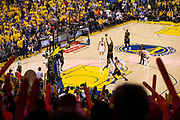 during Game 5 of the NBA Finals at Oracle Arena in Oakland, Calif., on June 12, 2017. (Stan Olszewski/Special to S.F. Examiner)