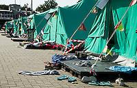 AMSTELVEEN - Kamp, hockeykamp met tenten Vakantie. COPYRIGHT KOEN SUYK