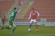 GOAL 2-1 Matt Crooks during the EFL Sky Bet Championship match between Rotherham United and Preston North End at the AESSEAL New York Stadium, Rotherham, England on 7 November 2020.