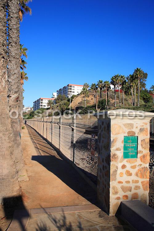 Beach Trail Entrance at the Pier Bowl San Clemente