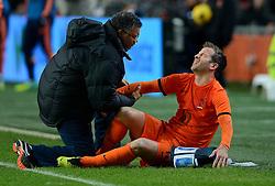 19-11-2013 VOETBAL: NEDERLAND - COLOMBIA: AMSTERDAM<br /> Nederland speelt met 0-0 gelijk tegen Colombia / Rafael van der Vaart<br /> ©2013-FotoHoogendoorn.nl