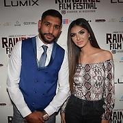 British Asain Boxer Amir Khan and Faryal Makhdoom attend World Premiere of Team Khan - Raindance Film Festival 2018 at Vue Cinemas - Piccadilly, London, UK. 29 September 2018.