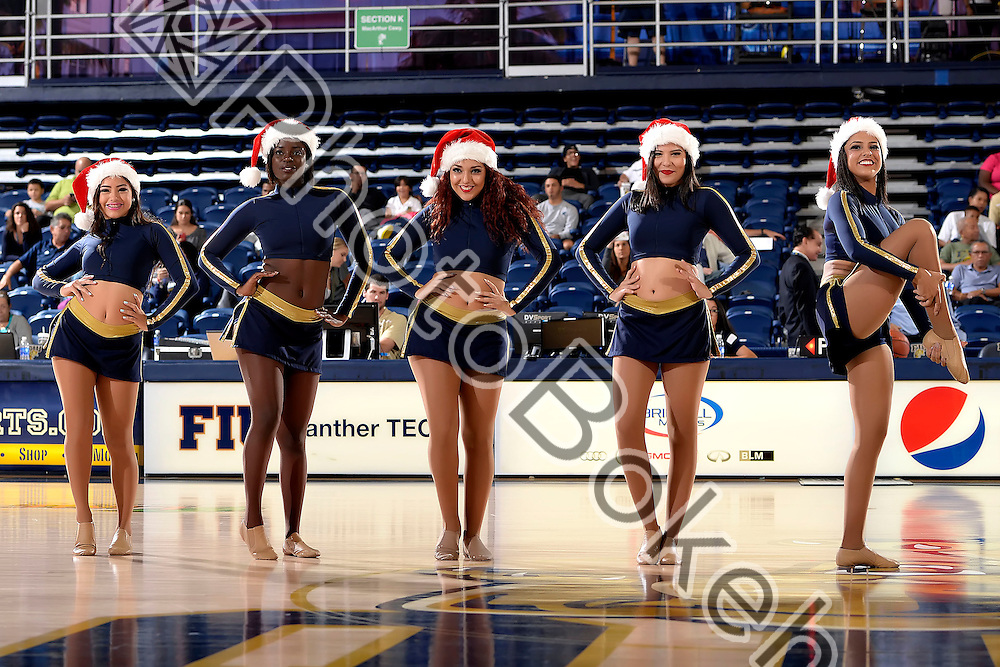 2015 December 04 - FIU's Golden Dazzlers performing at FIU Arena, Miami, Florida. (Photo by: Alex J. Hernandez / photobokeh.com) This image is copyright by PhotoBokeh.com and may not be reproduced or retransmitted without express written consent of PhotoBokeh.com. ©2015 PhotoBokeh.com - All Rights Reserved
