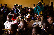 Children in Timbuktu return to class after months of school closure on Feb. 1, 2013.