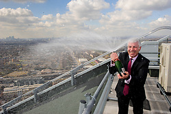 © Licensed to London News Pictures. 14/03/2013 Ilford, UK. George Traykov has won a second Euromillions fortune of £160,873.80 after winning £1 million in Sept 2011.The Ilford resident beat odds of 1 in 438 million to secure a second win..Photo credit : Simon Jacobs/LNP