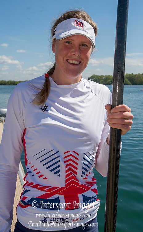 Caversham. Reading. Frances HOUGHTON, GBRowing  European Team Announcement, GB Training Base Reading. 13.05.2015. Wednesday. [Mandatory Credit: Peter Spurrier/Intersport-images.com
