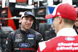 October 5, 2018 - Dover, Delaware, United States of America - Chase Briscoe (60) hangs out in the garage during final practice for the Bar Harbor 200 at Dover International Speedway in Dover, Delaware. (Credit Image: © Justin R. Noe Asp Inc/ASP via ZUMA Wire)