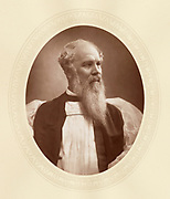 'John Charles Ryle (1816-1900) c1880, English churchman and supporter of the evangelical school. He was the first bishop in the newly created Anglican See of Liverpool.'